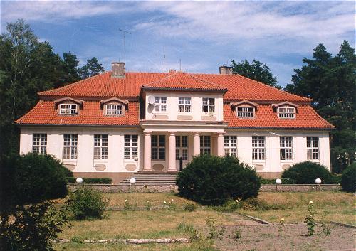 Rezydencja Prezydenta Ignacego Mościckiego na przedmieściach Więcborka. foto Tomasz Bracka