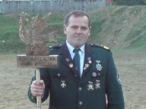Król jubileuszowy 278 lat KBS Więcbork Tomasz Bracka 17.10.2010r.