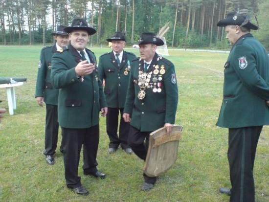 Nowy Król KBS Więcbork AD 2011/12 Tomasz Bracka przybrał przydomek królewski Jan Tomasz I