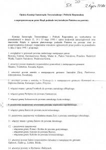 Mieszkańcy Więcborka zostaliście oszukani Sejm RP dawno powołał Powiat Więcborko - Sępoleński w 1993,1998 i 2001r. który blokuje rada i zarząd powiatu w Sępólnie kr