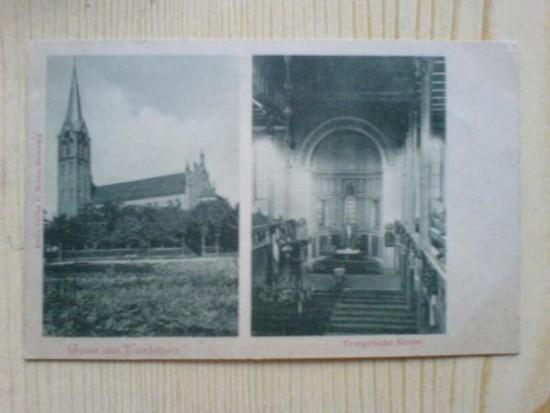 MGOK Więcbork to Kościół Ewangelicki zniszczony bezprawnie przez więcborskich komunistów