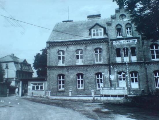 Więcborski szpital 50-lat temu