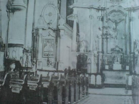 kościół katolicki wWięcborku 1920r. obrabowany po1945r. przezkomunistów.