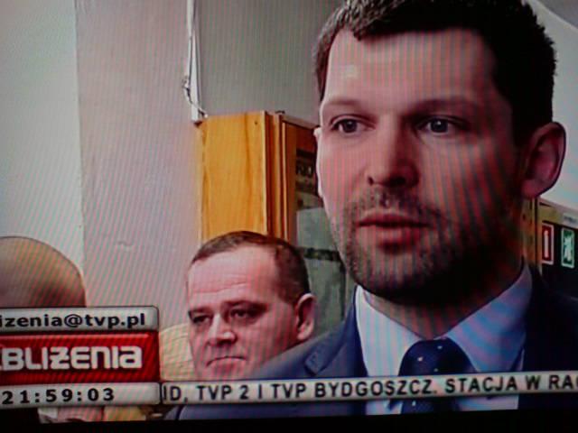 Relacja wTVB zspotkania Szymona Kołeckiego zRadą Miejską Więcborka iLKS Sokół wWięcborku 31.01.2013r.