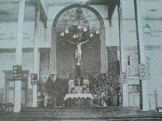 Kaplica modlitewna wzakonie sióstr Diakonistek wWięcborku przerobiona nasalę gimnastyczną