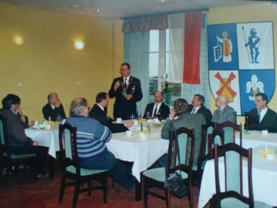Reaktywacja KBS Więcbork przez prezesa Tomasz Bracka 11.11.2002r.