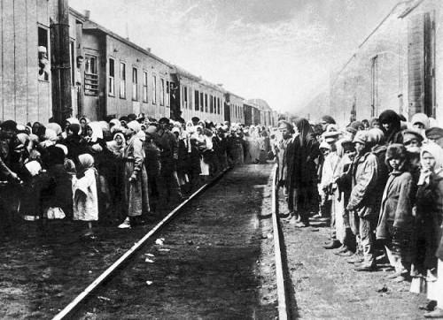 76 rocznica deportacji mieszkańców Więcborka w tym Joachima Bracka do obozów koncentracyjnych w Mijas, Dynaburgu, Kopiejsku i Czelabińsku w ZSRR