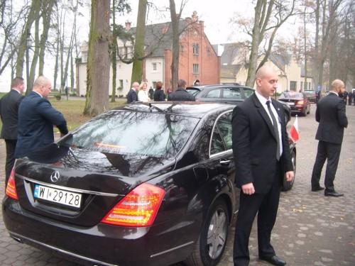 Prezydent RP Bronisław Komorowski w Pałacu w Runowie gmina Więcbork 12.11.2014r. foto Tomasz Bracka