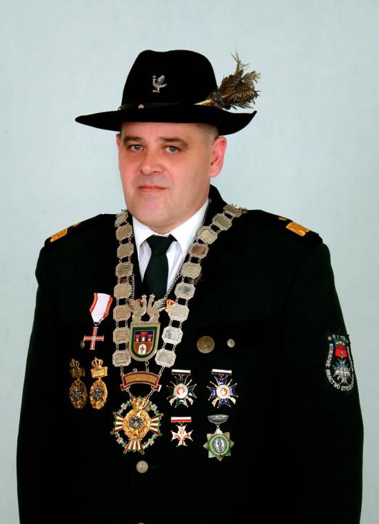 Założyciel, Prezes i Król KBS Więcbork Tomasz Bracka. foto Ryszard Pieczko