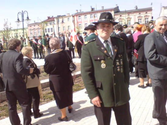 80- lat KBS Więcbork na zdjeciu założyciel, prezes i król KBS Więcbork Tomasz Bracka 25.04.2015r.- foto Jan Domek GW