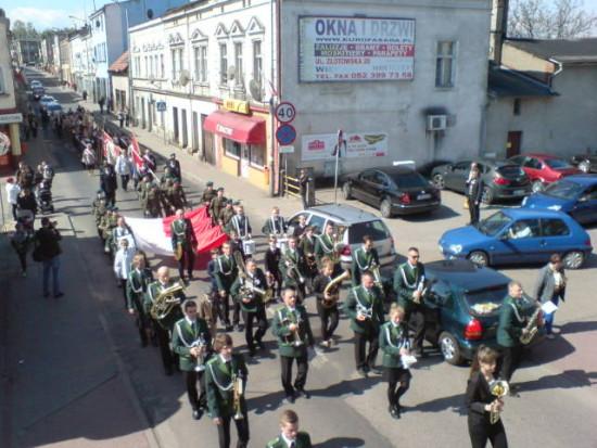 Uroczystości 3-Majowe w Więcborku. foto Tomasz Bracka