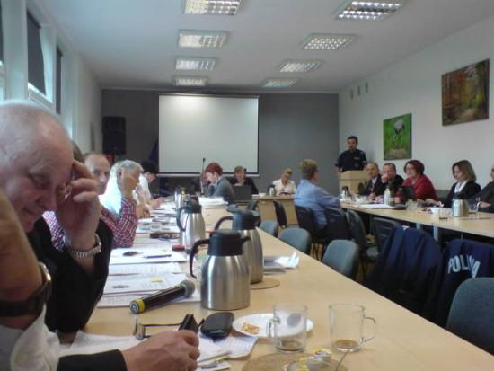 Sesja Rady Miejskiej w Więcborku foto Tomasz Bracka