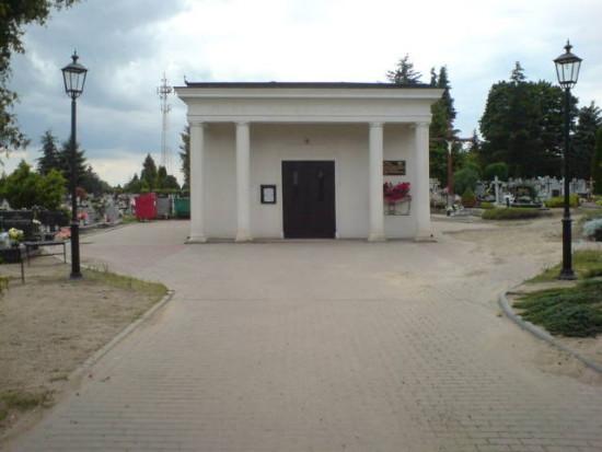 Cmentarz komunalny w Więcborku foto Tomasz Bracka
