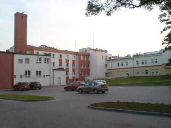 Szpital powiatowy w Więcborku. foto Tomasz Bracka