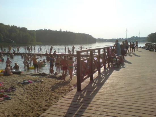 Lato na więcborskiej plaży - foto Tomasz Bracka