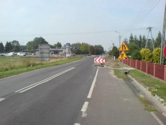 Budowa chodnika przy ul.Złotowskiej wWituni foto. Tomasz Bracka