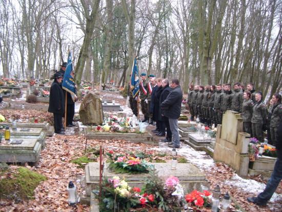 Święto Żołnierzy Wyklętych w Więcborku 01.03.2016r. foto Tomasz Bracka