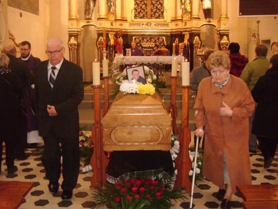 Pogrzeb tragicznie zmarłego śp Tomasz Mrozińskiego - foto Tomasz Bracka