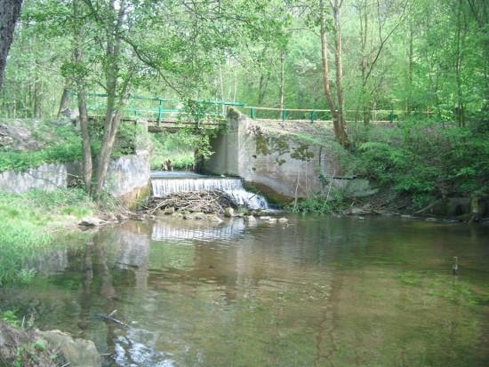 Wodospad w Runowie Młyn odnowiony i zalegalizowany - foto Tomasz Bracka