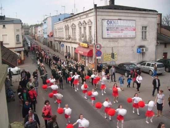Obchody 3 - Maja 2016r. w Więcborku - foto Tomasz Bracka