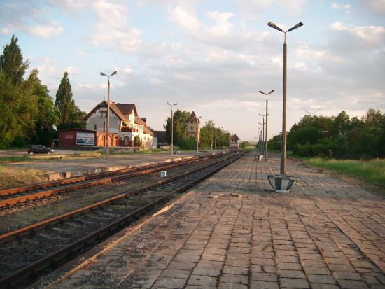 Stacja PKP Więcbork 25.06.2016r. - foto Tomasz Bracka
