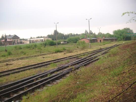 Kontrola stacji PKP Więcbork 19.05.2016r. foto