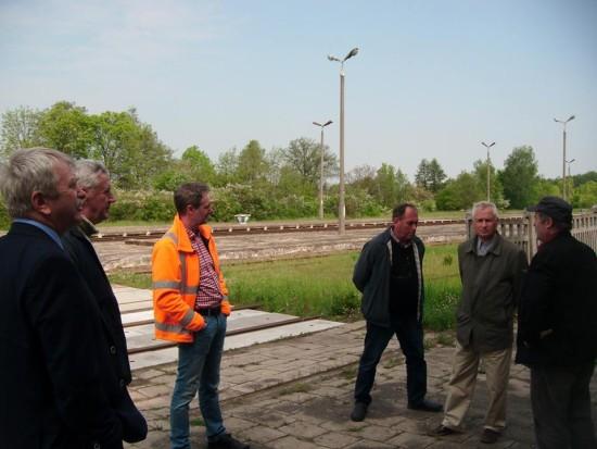 Kontrola stacji PKP Więcbork 19.05.2016r. foto Tomasz Bracka