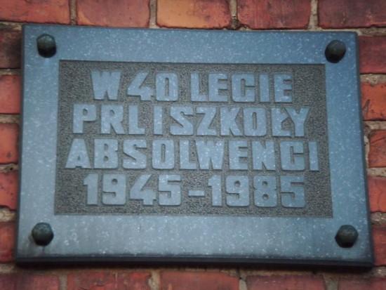 27 lat pseudo wolności w III RP czyli LO w Więcborku piewcą zabronionego komunizmu i PRL - foto Tomasz Bracka