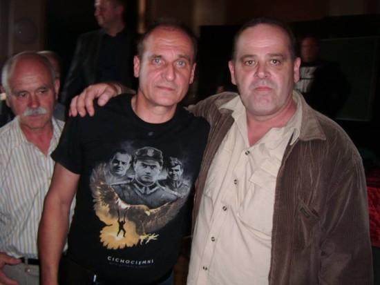 Tomasz Bracka i Paweł Kukiz w Toruniu 16.06.2016r.