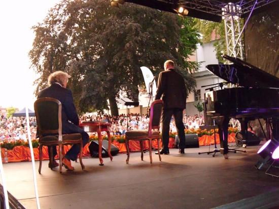 Koncert Andrzeja Dobbera w Więcborku 24.07.2016r. - foto Tomasz Bracka
