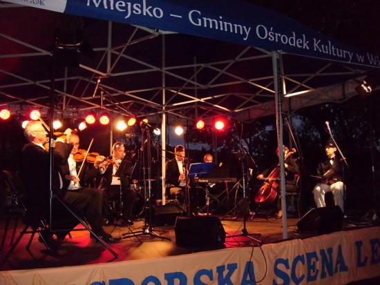 Koncert operetkowy 14 sierpnia 2016 r. na więcborskim Rynku - foto Tomasz Bracka