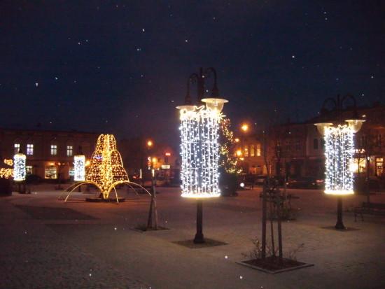 Rynek Miejski w Więcborku - foto Tomasz Bracka