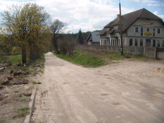 Ulica 28 Stycznia droga publiczna kategorii gminnej w Więcborku - foto Tomasz Bracka