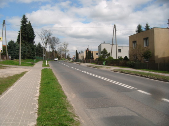 Ulica Wyzwolenia w Więcborku - foto Tomasz Bracka