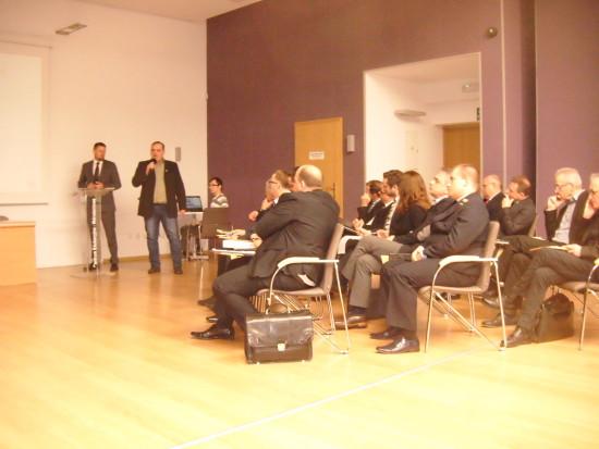 Na zdjęciu mój dzisiejszy wykład na temat LK 281 i stacji PKP Więcbork.