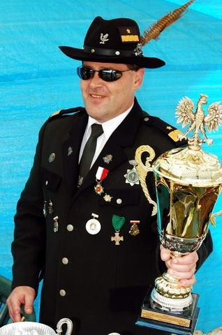 Tomasz Roman Bracka prezes założycie i król 285 - letniego Królewskiego Bractwa Strzeleckiego w Więcborku.
