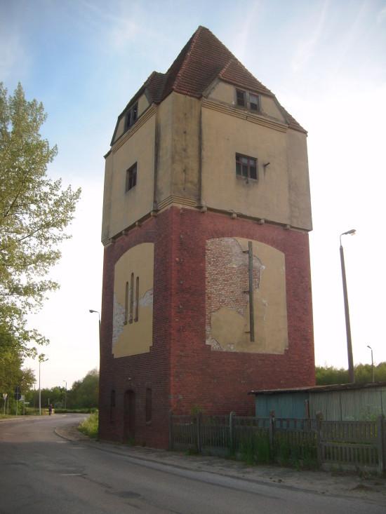 Wieża Ciśnień na Stacji PKP Więcbork  do remontu generalnego foto Tomasz Bracka