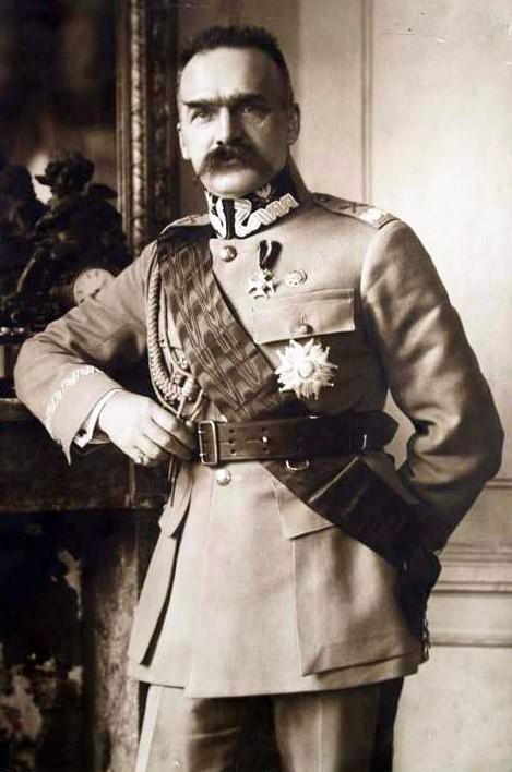 Marszałek Polski Premier II RP Józef Piłsudski