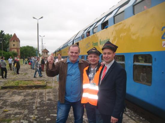 Pociąg pasażerski POL REGIO relacji Chojnice – Więcbork – Nakło n/Not wjechał 17. 06. 2017 r. punktualnie o godz. 10, 53 na 130 letnią zabytkową stacje PKP Więcbork.
