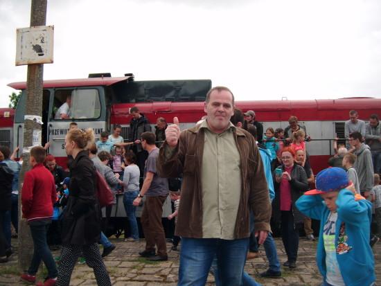 Pociąg pasażerski POL REGIO relacji Nakło n/Not - Więcbork - Chojnice wjechał dziś 17. 06. 2017 r. ponownie na 130 letnią zabytkową stacje PKP Więcbork !!! - foto Gazeta Więcborska