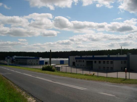 Rozbudowa fabryki Mebli Gabi BiS na przedmieściach Więcborka - Foto Tomasz Roman Bracka