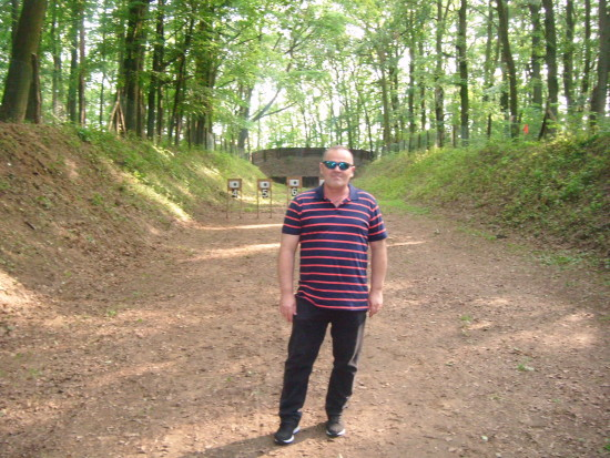 Jubileuszowy turniej strzelecki 285 letniego Kurkowego Bractwa Strzeleckiego w Więcborku, które reaktywowałem 15 lat temu z 15 braćmi 11. 11. 2002 r. - foto sierpień 2017 r.