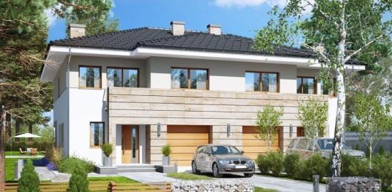 """Projekt dwóch budynków mieszkalnych na potrzeby dwóch 14 – osobowych placówek opiekuńczo-wychowawczych wraz z niezbędną infrastrukturą techniczną w Więcborku"""""""