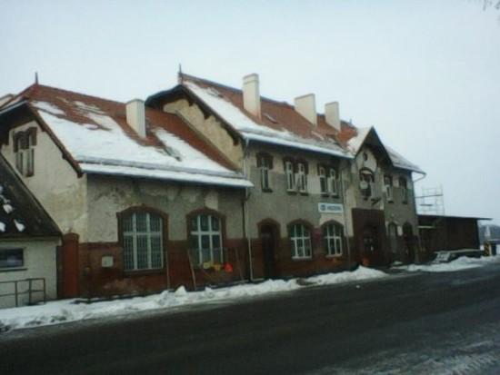 Remont Dworca PKP Więcbork - Tomasz Roman Bracka
