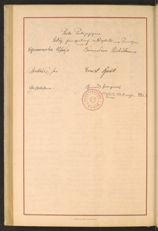 W 1926 roku do Białego Domu i prezydenta USA Calvina Coolidge'a trafiło 111 tomów z ponad 30 tys. stron podpisów obywateli II RP – miało to być niezwykłe podziękowanie za wkład Stanów Zjednoczonych w odbudowę niepodległej Polski i jednoczesne uczczenie 150 rocznicy ogłoszenia amerykańskiej deklaracji niepodległości. Polska Szkoła Powszechna w Więcborku w hołdzie Narodowi USA w 150 rocznicę niepodległości Stanów Zjednoczonych też podpisała tą deklarację co prezentuje na historycznym dokumencie ! Więc już teraz zamilknijcie zabógowcy, lupy medialne i gówniarzerio samorządowa bo tu zawsze była Polska tajojki. Tomasz Roman Bracka