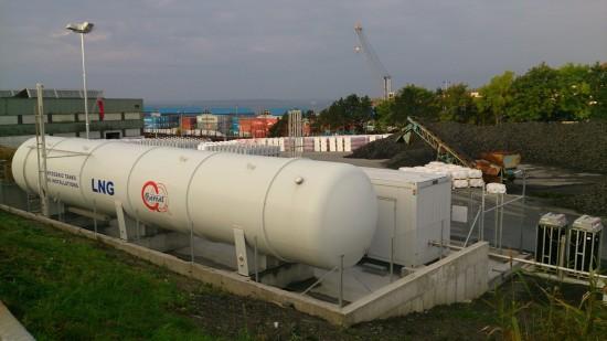 Stacja regazyfikacji LNG