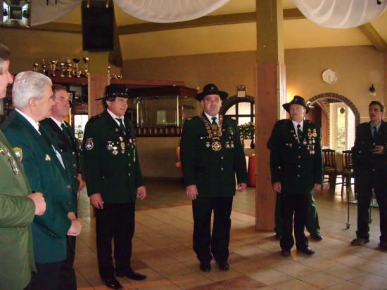 Intronizacja Króla 286 letniego Kurkowego Bractwa Strzeleckiego w Więcborku Tomasza Romana Bracka 2011 r.