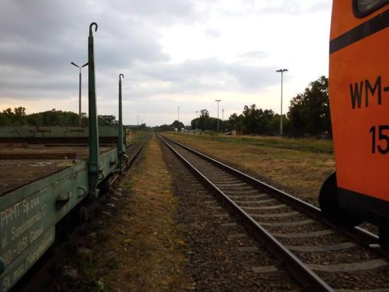 Trwa wywalczona przeze mnie rewitalizacja stacji PKP Więcbork i LK 281 na Magistrali Kolejowej Portowej BiS Północ Południe relacji Katowice - Więcbork - Gdynia - foto Tomasz Roman Bracka
