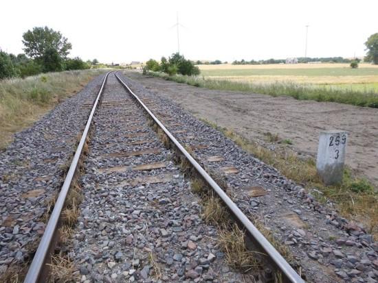 Trwa wywalczona przeze mnie rewitalizacja LK 281 i stacji PKP Więcbork 29. 06. 2018 r. - foto Tomasz Roman Bracka