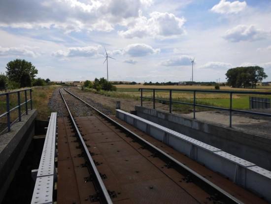 Trwa rewitalizacja LK 281 i stacji PKP Więcbork 29. 06. 2018 r. - foto Tomasz Roman Bracka